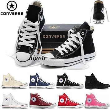 2017 Converse Chuck Tay Lor Shoes For Men Womens High Tops mens Casual Canvas Brand Co