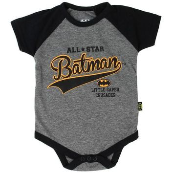 Baby Onesuit Capped Crusader Varsity Style All-Star