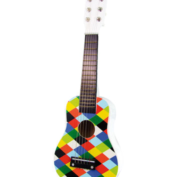 Harlequin Guitar Toy