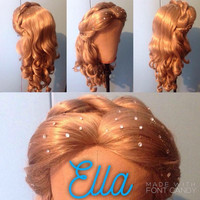 Live action Cinderella inspired wig