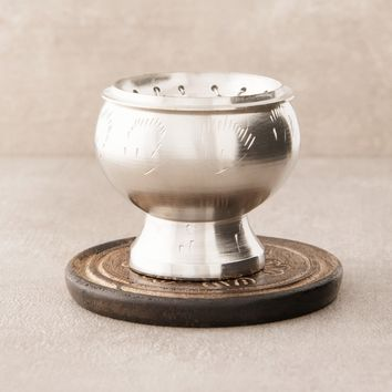 Resin Incense Burner - Pewter Finish
