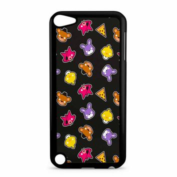 Fnaf Freddy S Faces Pattern Cute Kawaii Chibi iPod Touch 5 Case
