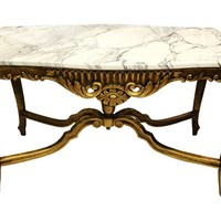 Italian Carved Center Table