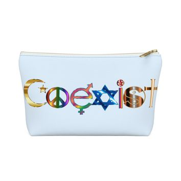 COEXIST Accessory Pouch w T-bottom