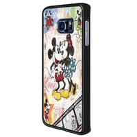 Minnie and mickey mouse vintage e644c836-8309-4ac2-8201-054d9743e9bf for Samsung Galaxy S6 Edge Plus Case *RA*