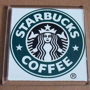 Starbucks Coffee Coaster 4 X 4 inches