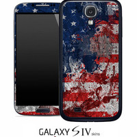 Vintage American Flag Skin for the Samsung Galaxy S4, S3, S2, Galaxy Note 1 or 2