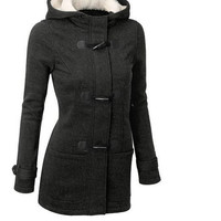 Coat Winter Plus Size Women's Fashion Hats Jacket [9307405892]