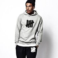 Undefeated Woman Men Fashion Top Sweater Pullover Hoodie