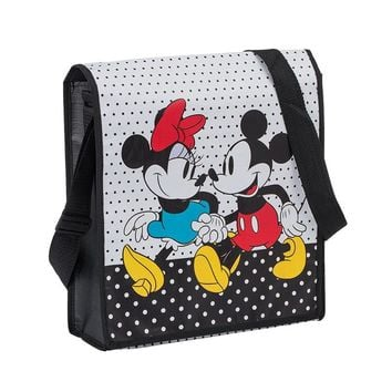 Mickey and Minnie Mouse Messenger Tote