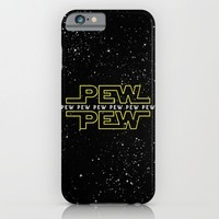 Pew Pew v2 iPhone & iPod Case by BomDesignz