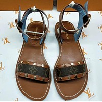 LV Fashion casual sandals