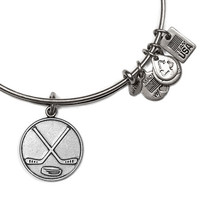 Alex and Ani Team USA Winter Olympics Ice Hockey Bangle Russian Silver