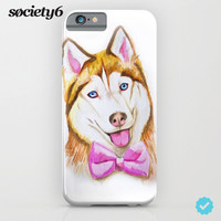 Husky Puppy iPhone & iPod Case by Lostanaw