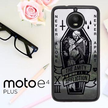 Amity Affliction Band L1344 Motorola Moto E4 Plus Case