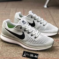 NIKE AIR ZOOM PEGASUS 34 34th generation on the moon and built-in air cushion F-AA-SDDSL-KHZHXMKH White