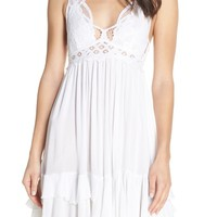 Free People Intimately FP Adella Frilled Chemise | Nordstrom