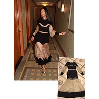 Nicki Minaj Inspired Dress. Celebrity Style 1