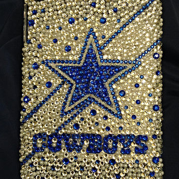 Dallas Cowboys Crystal iPad mini case, bling ipad case, football sports case