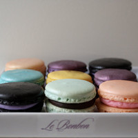 Le Bonbon French Macaron Sampler Pack by LeBonbonLA on Etsy