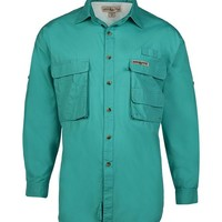 Men's Gulf Stream L/S Vented Fishing Shirt