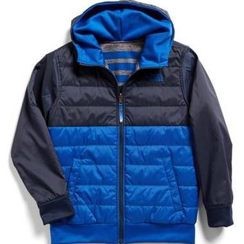 The North Face Boy's 'Surgent' Reversible Quilted Hoodie,