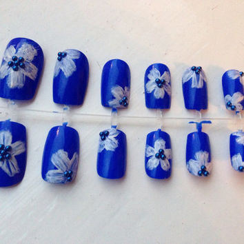 Hollister themed summer Hawaiian decorated by NailedItBoutique