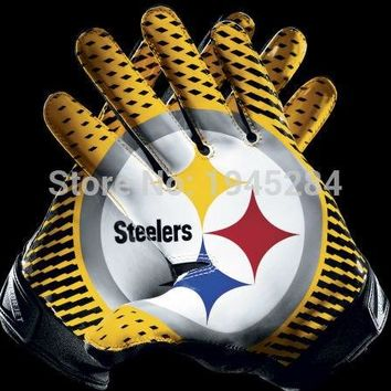 NFL Pittsburgh Steelers Gloves Flag Banner New 3x5ft 150x90cm Polyester Flag Banner, free shipping