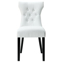 Modway Silhouette Dining Chair In White EEI-812-WHI