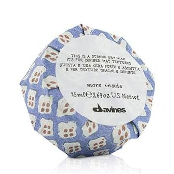 Davines More Inside This Is A Strong Dry Wax (For Defined Mat Textures) Hair Care