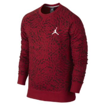 Jordan Ele Camo Fleece Crew Men's