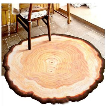 Old Round Carpets Bedroom living room coffee table mat Computer chairs hanging basket mats     Bedside blanket