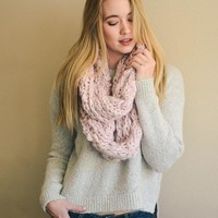 Chunky Knit Infinity Scarf | Colors