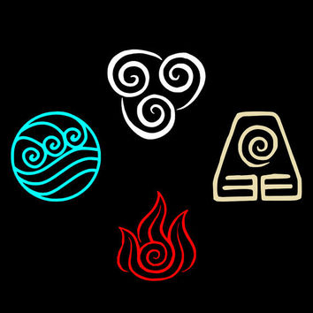 Avatar Symbol Vinyl Decal Collection by vinyledgedesigns on Etsy