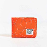Herschel Supply Co. Roy Neon Square Bifold Wallet- Bright Orange One