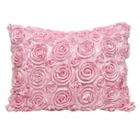 Wake Up Frankie - The Bouquet Standard Sham - Pink : Teen Bedding, Pink Bedding, Dorm Bedding, Teen Comforters