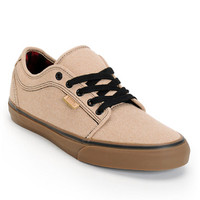 Vans Chukka Low Tan & Gum Canvas Skate Shoe