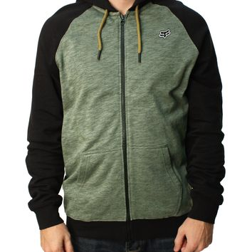 Fox Racing Men's Intercept Full Zip Fleece Hoodie