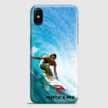 Rip Curl Surf Color iPhone X Case | casescraft