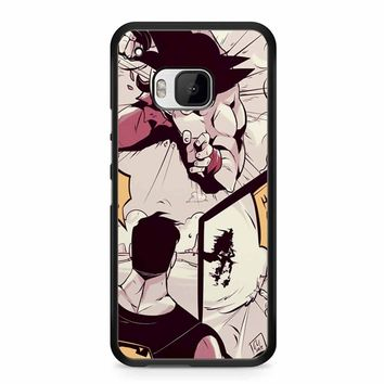 Goku Vs Superman 2 HTC M9 Case
