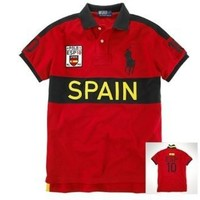 Polo Ralph Lauren Men Custom Fit Big Pony Polo Shirt - SPAIN $109.00 - $119.99