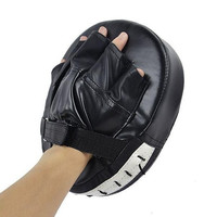 Fashion Boxing Mitt Training Target Focus Punch Pads Gloves MMA Karate Combat Thai Kick PU Foam Material