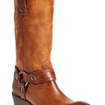 Women's Frye 'Carson Harness' Western Mid Calf Riding Boot,