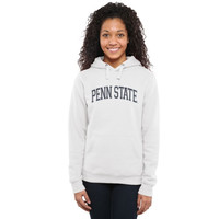 Penn State Nittany Lions Ladies Arch Name Pullover Hoodie - White