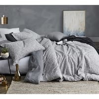 BYB Carbon Stone Grey and White Stripe Comforter (Shams Not Included) | Overstock.com Shopping - The Best Deals on Teen Comforter Sets