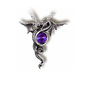 Anguis Aeternus Dragon Gothic Necklace