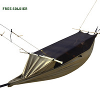 outdoor camping outdoor survivor mult-ifunction portable mosquitoes hammock wear-resisting tent 160-180cm height FREE SOLDIER