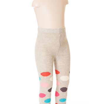 Deux Par Deux Girls Princess Du Nord Knit Tights Multi Size 2-7 YRS
