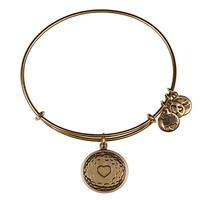 Alex and Ani Golf Ball Charm Bangle - Russian Gold