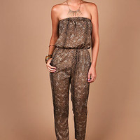 Cheetah Breeze Jumpsuit - Jumpsuits at Pinkice.com